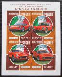 Poštovní známky Niger 2018 Ferrari Mi# 5718-21 Kat 13€
