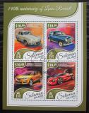 Poštovní známky Šalamounovy ostrovy 2017 Automobily Renault Mi# 4702-05 Kat 12€