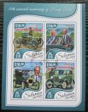 Poštovní známky Šalamounovy ostrovy 2017 Automobily Ford Mi# 4697-4700 Kat 12€