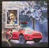 Poštovní známka Guinea 2018 Automobil Tesla Mi# 13130-33 Kat 20€