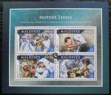 Poštovní známky Maledivy 2016 Matka Tereza Mi# 6741-44 Kat 11€