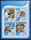 Poštovní známky Šalamounovy ostrovy 2017 Matka Tereza Mi# 4737-40 Kat 12€