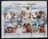 Poštovní známky Guinea-Bissau 2015 Matka Tereza Mi# 8199-8203 Kat 13.50€