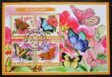 Poštovní známky Burkina Faso 2019 Motýli Mi# N/N
