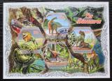 Poštovní známky Pobřeží Slonoviny 2018 Dinosauři Mi# N/N