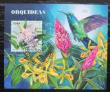 Poštovní známka Guinea-Bissau 2018 Orchideje Mi# Block 1710 Kat 12.50€