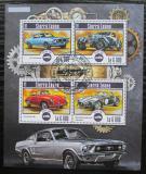 Poštovní známky Sierra Leone 2015 Historické automobily Mi# 6239-42 Kat 11€