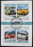 Poštovní známky Sierra Leone 2018 Závodní automobily Mi# 9594-97 Kat 11€