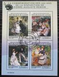 Poštovní známky Guinea 2014 Umění, Pierre-Auguste Renoir Mi# 10742-45 Kat 20€