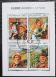 Poštovní známky Mosambik 2018 Umění, Pierre-Auguste Renoir Mi# N/N