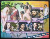 Poštovní známky Madagaskar 2016 Umění, vlámští malíři Mi# N/N