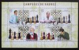 Poštovní známky Guinea-Bissau 2006 Světoví šachisti Mi# 3450-53 Kat 8€