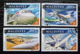 Poštovní známky Maledivy 2016 Concorde Mi# 6736-39 Kat 10€