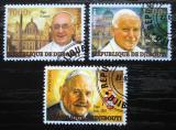 Poštovní známky Džibutsko 2014 Kanonizace papežů Mi# N/N