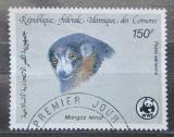 Poštovní známka Komory 1987 Lemur mongoz, WWF 047 Mi# 795