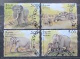 Poštovní známky Srí Lanka 1986 Sloni, WWF 039 Mi# 753-56 Kat 45€