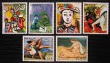 Poštovní známky Paraguay 1981 Umění, Pablo Picasso Mi# 3436-41