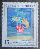 Poštovní známka Česká republika 1999 Umění, Jindřich Štýrský Mi# 236