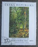 Poštovní známka Česká republika 1999 Umění, Julius Mařák Mi# 237