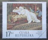 Poštovní známka Česká republika 2002 Umění, Vlaho Bukovac Mi# 318
