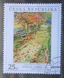 Poštovní známka Česká republika 2007 Umění, Otakar Lebeda Mi# 533
