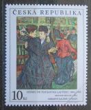 Poštovní známka Česká republika 1994 Umění, Henri de Toulouse-Lautrec Mi# 57