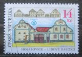 Poštovní známka Česká republika 2001 Architektura, Holašovice Mi# 304