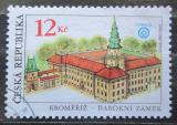Poštovní známka Česká republika 2001 Barokní zámek v Kroměříži Mi# 303