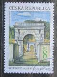 Poštovní známka Česká republika 1999 Řetězový most u Stádlce Mi# 218