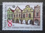 Poštovní známka Česká republika 1994 Barokní domy v Telči Mi# 39