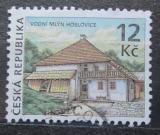 Poštovní známka Česká republika 2009 Vodní mlýn Hoslovice Mi# 608