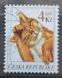 Poštovní známka Česká republika 1999 Kočka Mi# 204