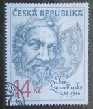Poštovní známka Česká republika 1996 Jan Lucemburský Mi# 106