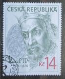 Poštovní známka Česká republika 1996 Karel IV. Mi# 107