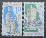 Poštovní známky Česká republika 2009 Kachlová kamna Mi# 610-11