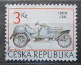 Poštovní známka Česká republika 1994 Historické závodní auto Mi# 54