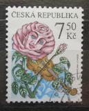 Poštovní známka Česká republika 2006 Růže hraje na housle Mi# 471