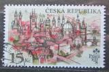 Poštovní známka Česká republika 1997 Praha Mi# 157