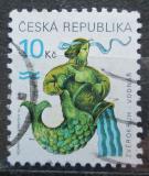 Poštovní známka Česká republika 1998 Znamení zvěrokruhu, vodnář Mi# 200