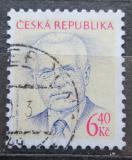 Poštovní známka Česká republika 2003 Prezident Václav Klaus Mi# 363