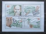 Poštovní známky Česká republika 1999 Joachim Barrande a trilobiti Mi# 221-22