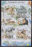 Poštovní známky Česká republika 2016 Fauna ze ZOO Mi# Block 61