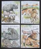 Poštovní známky Česká republika 2016 Fauna ze ZOO Mi# 892-95
