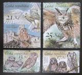 Poštovní známky Česká republika 2015 Sovy Mi# 851-54