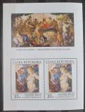 Poštovní známky Česká republika 2014 Umění, Peter Paul Rubens Mi# Block 53