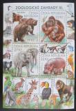 Poštovní známky Česká republika 2018 Fauna ze ZOO Mi# Block 72
