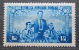 Poštovní známka Rumunsko 1952 Pionýrská organizace, 3. výročí Mi# 1398 Kat 13€