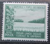 Poštovní známka Rumunsko 1953 Měsíc lesů Mi# 1440 Kat 5€