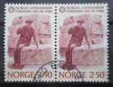Poštovní známky Norsko 1986 Kameník pár Mi# 944