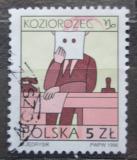 Poštovní známka Polsko 1996 Znamení zvěrokruhu - kozoroh Mi# 3609 x Kat 2.60€
